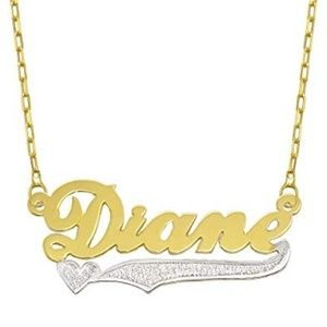 Jewelry - 14k Solid Gold Custom name